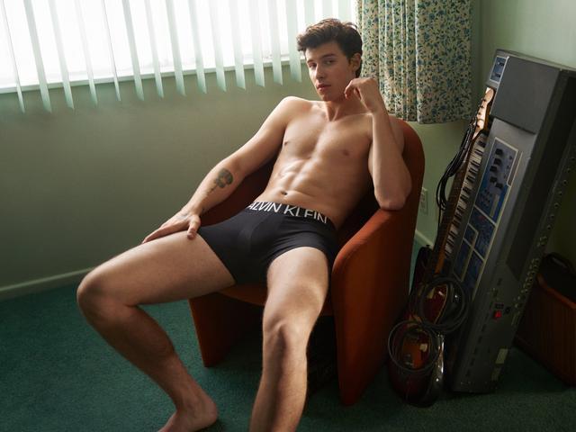 肖恩蒙德兹最新CK广告代言图释出 Shawn Mendes萌德